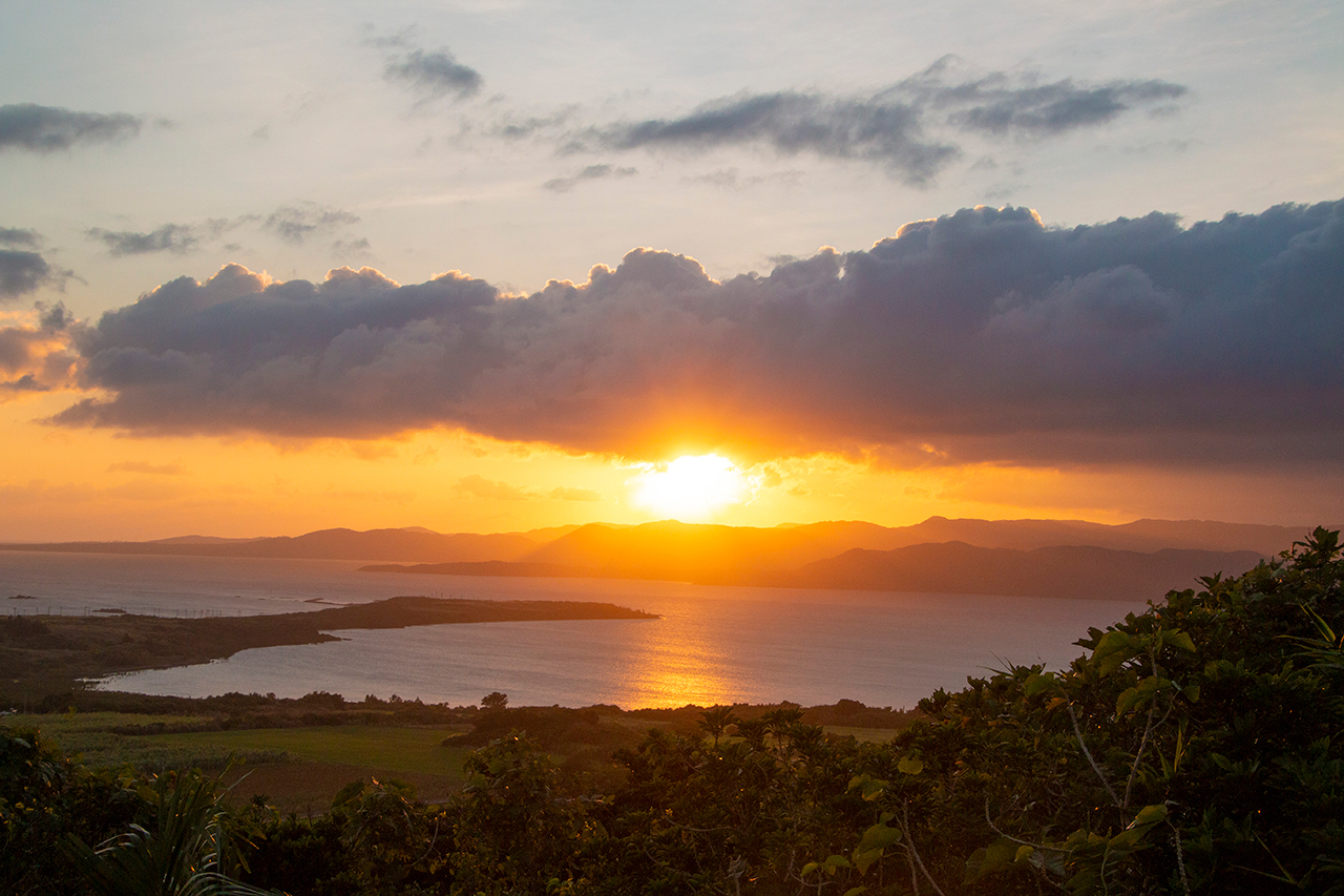 朝日&夕日を見るならここ!「大岳」