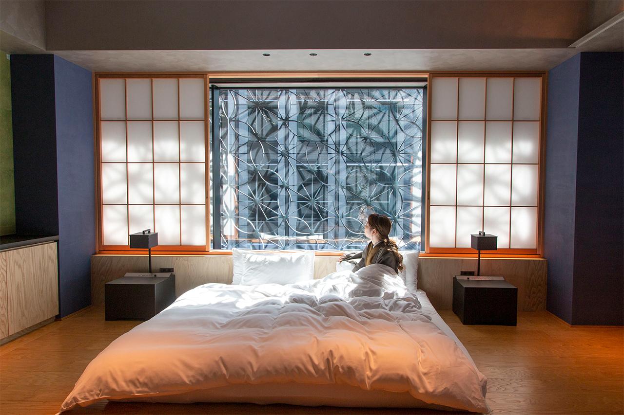 星のや東京「お茶の間ラウンジ」でごろごろ。おこもり温泉旅へ