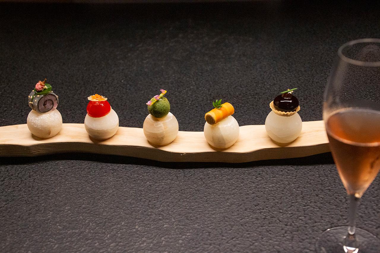 個室で味わう「Nipponキュイジーヌ 〜発酵〜」。夕食&朝食