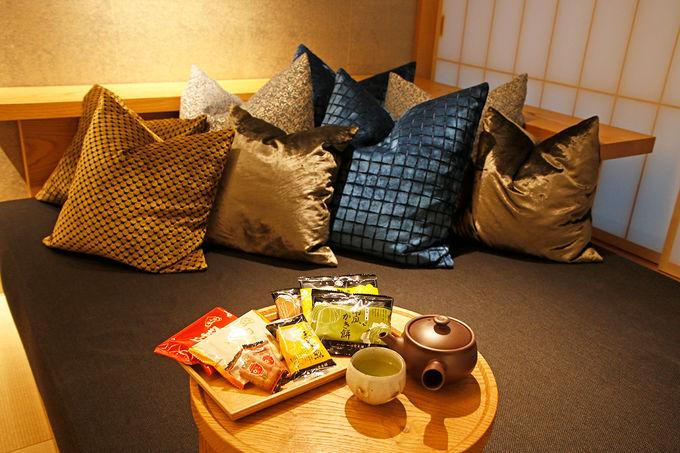 各階にひとつある贅沢。「お茶の間ラウンジ」
