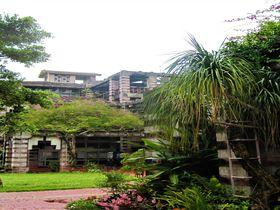 沖縄「名護市役所」は古代遺跡のような絶景建築!