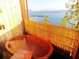 鹿児島「指宿温泉 吟松」露天風呂付き客室も砂風呂も堪能できる極上宿