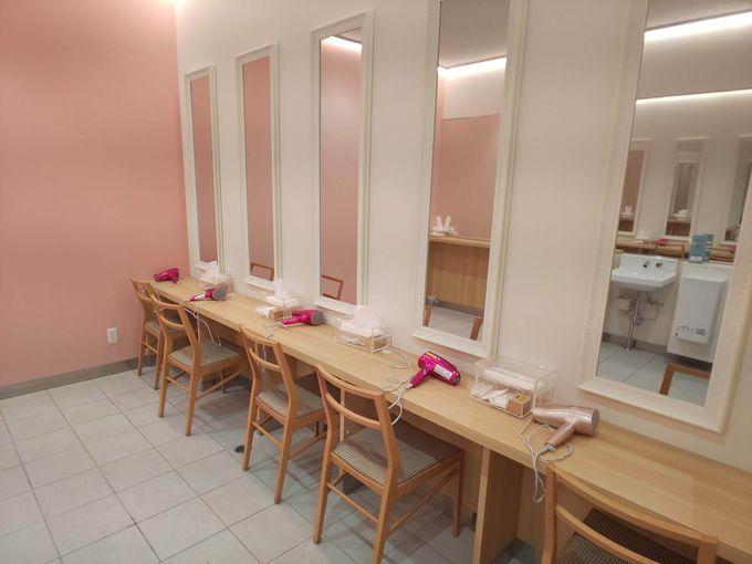 女性&ファミリーに嬉しいキレイな施設