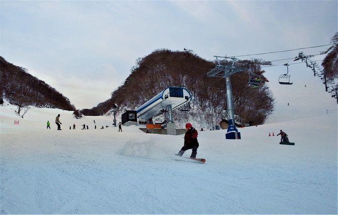 日本最速の高速リフトでコースもパークも滑りまくる!