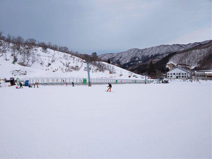 スキー・スノーボード初心者から上達を目指すのに最適なレイアウト