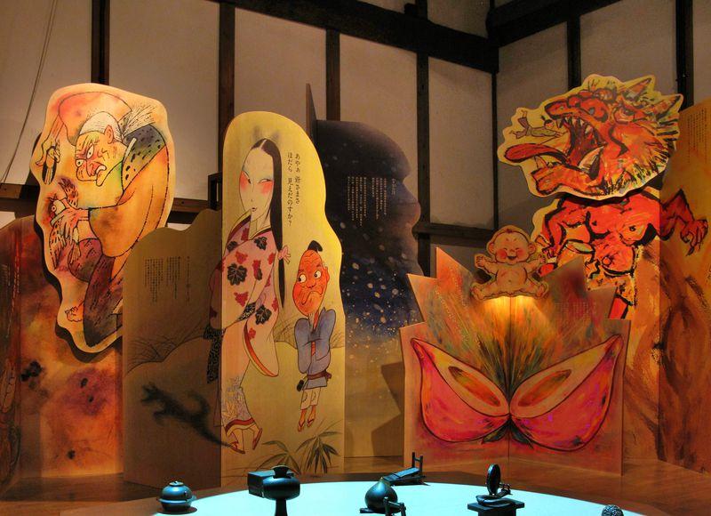 岩手「とおの物語の館」遠野に伝わる妖怪の世界で遊ぶ館