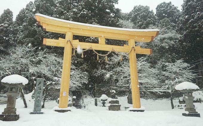 冬季もアクセスしやすい「戸隠神社 中社」