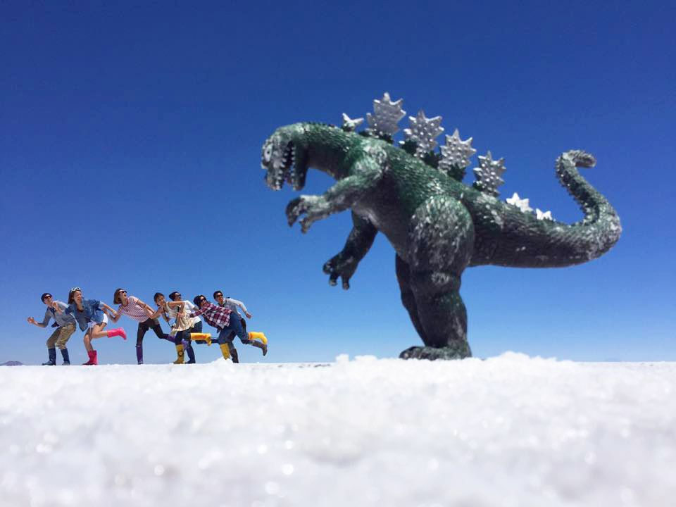 1.ウユニ塩湖/ボリビア