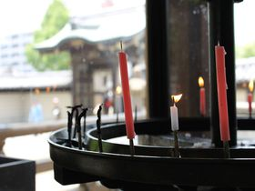 縁日で素敵なご縁を!ハルカスと極楽浄土の庭 大阪「四天王寺」