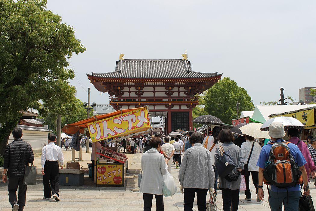 ご利益も特別!?毎月21、22日開催「四天王寺縁日」