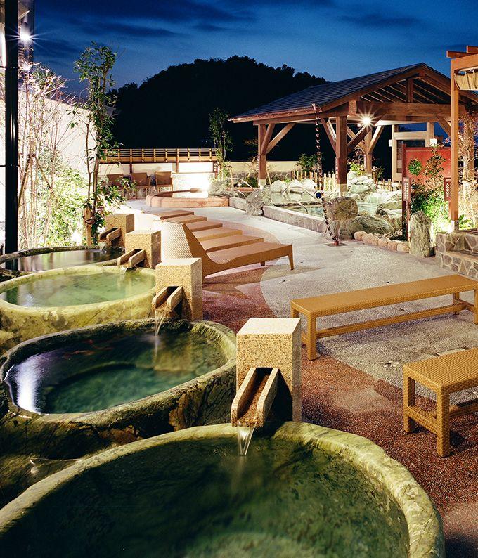 旅のお楽しみ 温泉もバッチリ