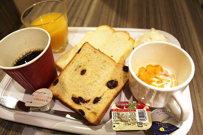 お部屋でも楽しめる!うれしい無料朝食