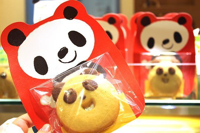 人気者!パンダクッキーたち