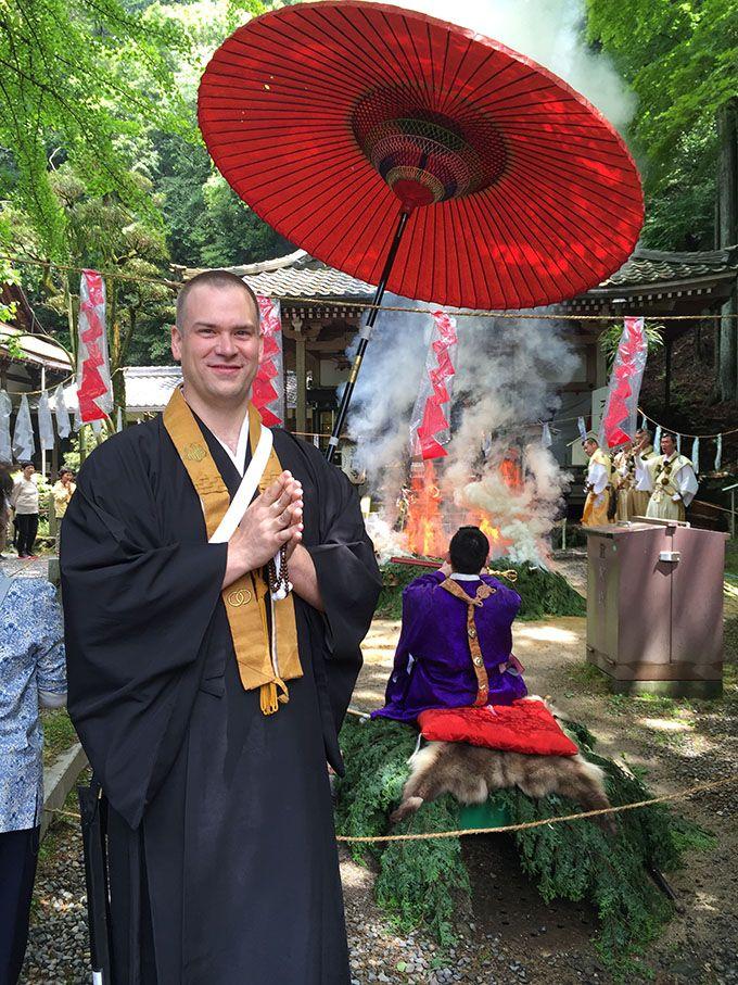 「巡礼」文化を海外にも・アメリカ人僧侶のツイート巡礼