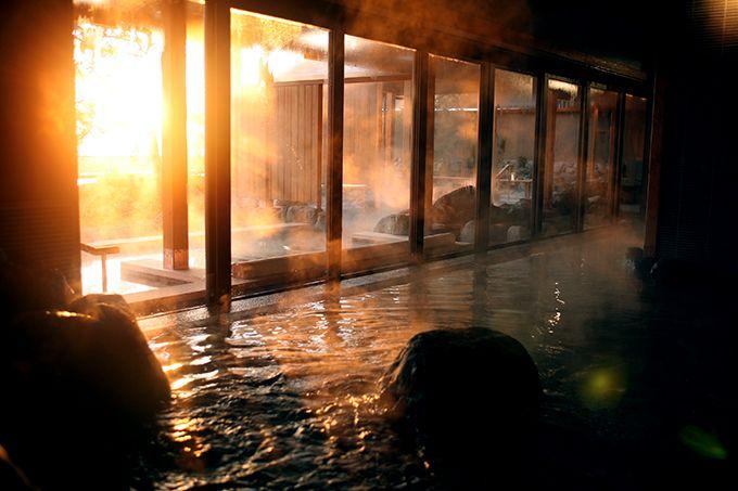日替わりで楽しめる 淡路棚田の湯、くにうみの湯