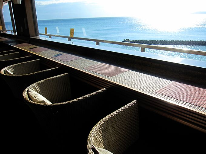 絶景かな!全室から海が見えるロケーション!