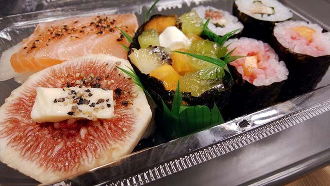 和歌山の「フルーツ寿司」は口コミで人気のご当地グルメ