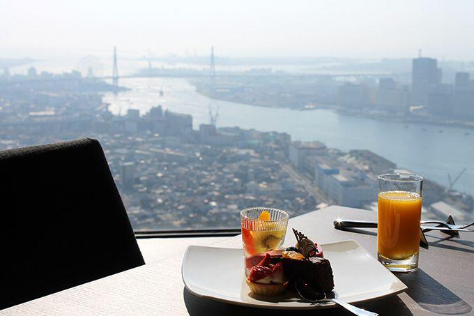 地上200メートルの超眺望レストラン