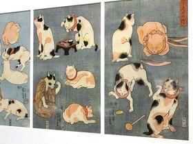 金魚も猫もゆるふわ!大阪市立美術館「江戸の戯画」