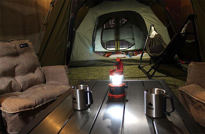 世界初!人気のテント部屋
