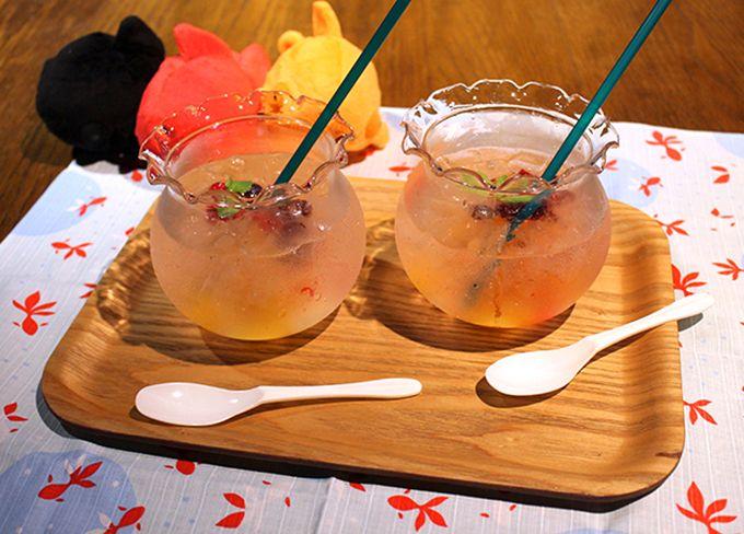 京都水族館「WOW!金魚あそび」はスイーツも可愛い!