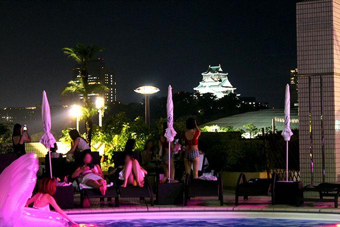 大阪のシンボル!大阪城と一緒に