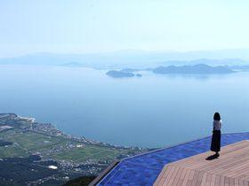 びわ湖テラスのノーステラスが絶景すぎる!京都から1時間で天空へ