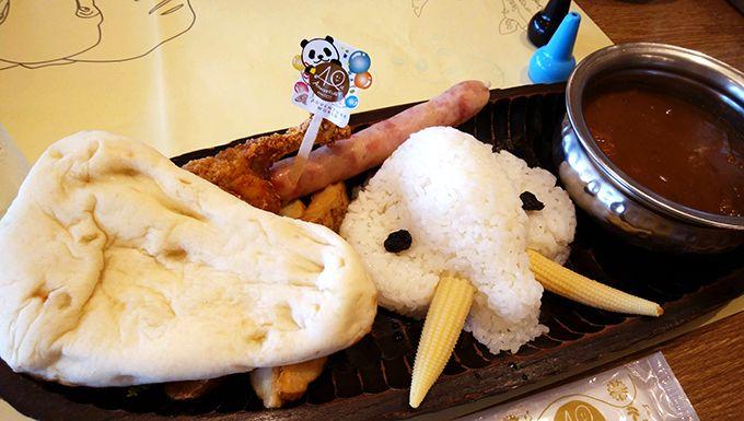 パンダグルメでお腹を満たそう!