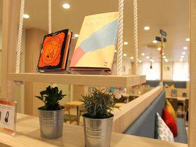 駅近便利なコンフォートホテル神戸三宮 無料のライブラリーカフェも!