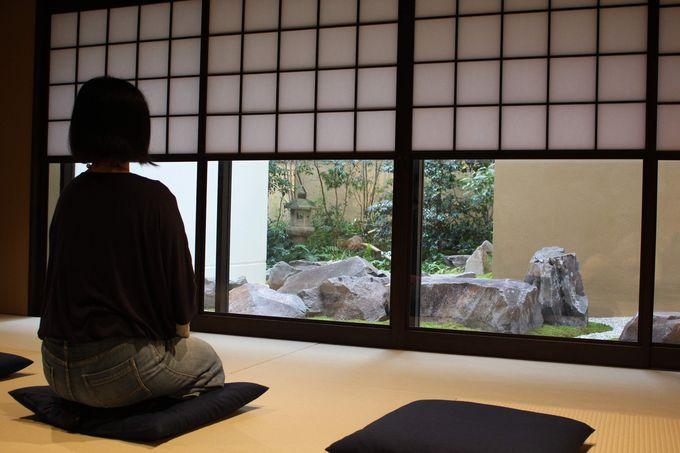他の「ENSO ANGO」で坐禅などを体験してみる