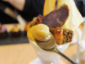 大阪・高級芋菓子しみずで美味しい芋スイーツを!芋豚ランチも