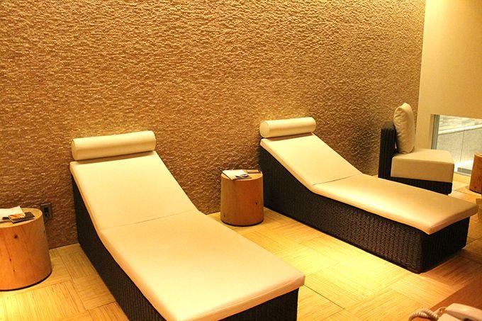 日本式浴場で2種類のサウナも堪能