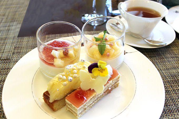 瑠璃色の空とピーチブッフェ!インターコンチネンタルホテル大阪「ピーチ パーフェクション」