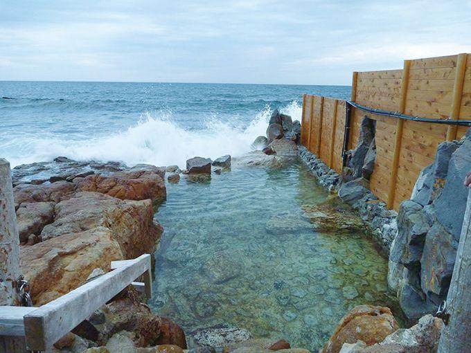 潮騒と絶景「崎の湯 露天風呂」