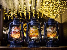 滋賀「パフェ専門店LAMP」で幻想的なランプ型パフェを!