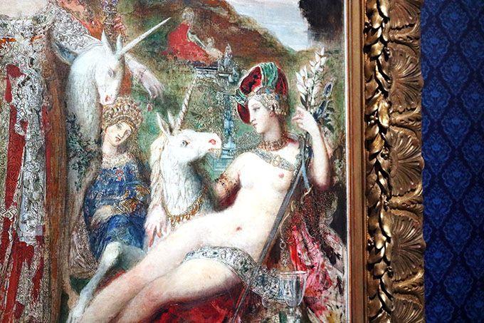 あべのハルカス美術館「ギュスターヴ・モロー展」で運命の女に出会う