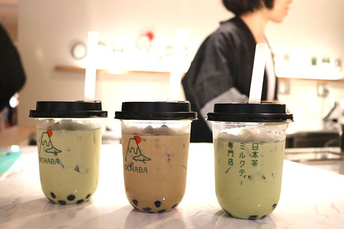 西日本初出店!「日本茶ミルクティー専門店 OCHABA」