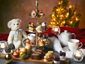 くまマカロンがキュート!リッツ大阪の「クリスマス テディベア ティーパーティー」