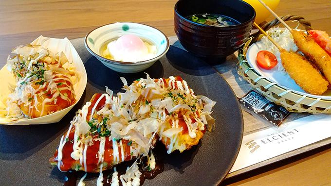 大阪名物を朝食に