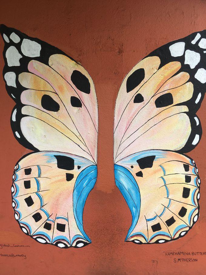 天使の羽ならぬ、蝶々の羽!?