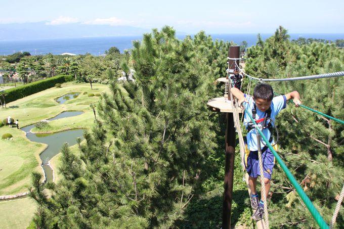 3.初島アドベンチャーSARUTOBI/静岡県