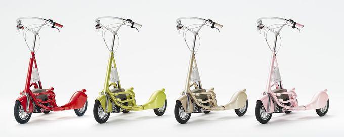 歩くより速くて、自転車よりカンタン!