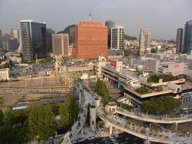 美しい歩行者道路「ソウル路7017」が完成!今後のソウルはどう変わる?