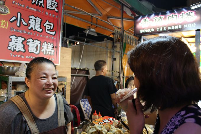 台湾名物の夜市でiliを使ってみました!