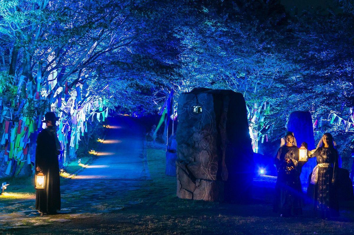淡路島にアニメパーク「ニジゲンノモリ」がオープン