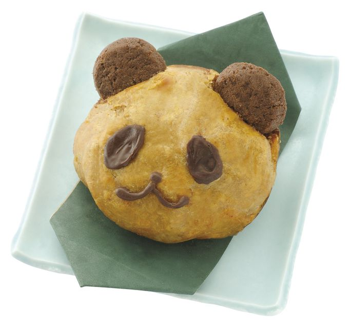3. おいもさんのお店 らぽっぽ「パンダ焼き芋スイートポテト」