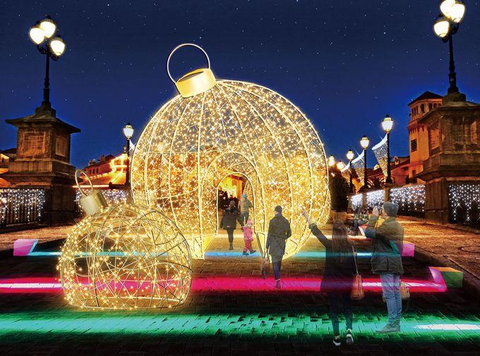 ヨーロッパのクリスマスのよう!「フェスタ・ルーチェ」