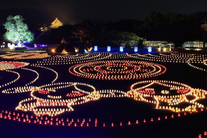 ライトアップイベント「吉野ヶ里 光の響」開催!