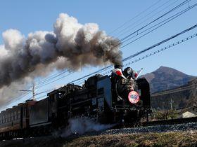 約2年ぶりの冬季特別運転!秩父鉄道「SLパレオエクスプレス」
