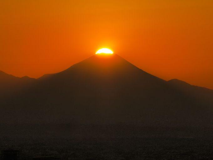 平成最後のダイヤモンド富士を、海抜251mから眺めよう
